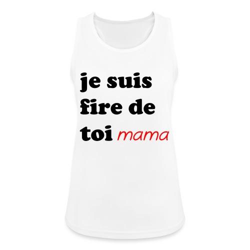 je suis fier de toi mama - Women's Breathable Tank Top