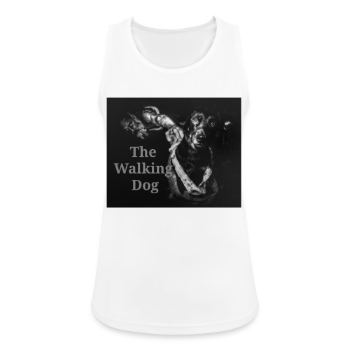 The Walking Dog - Frauen Tank Top atmungsaktiv