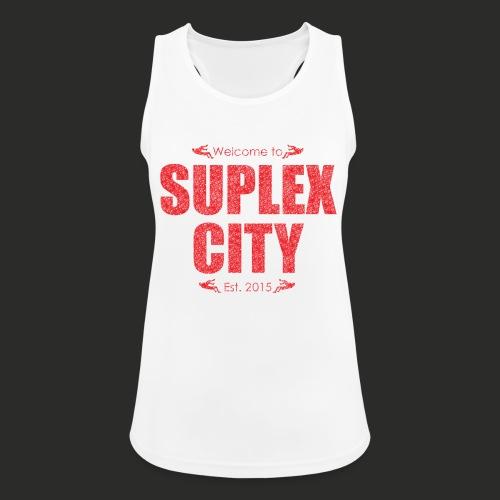 Suplex City Mens T-Shirt - Women's Breathable Tank Top