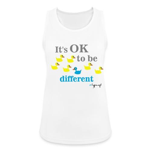 It's OK to be different - Tank top damski oddychający