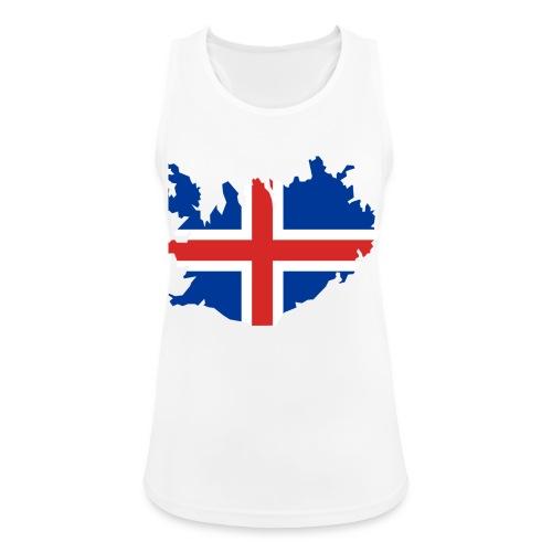 Iceland - Vrouwen tanktop ademend actief