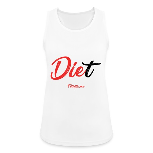 Diet by Fatastic.me - Women's Breathable Tank Top