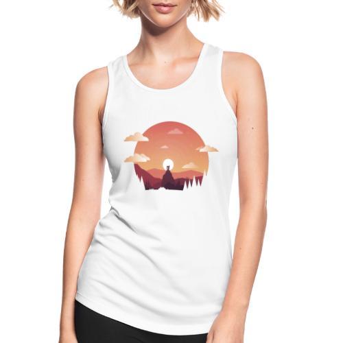 Monte Sagrado - Camiseta de tirantes transpirable mujer