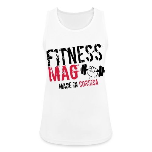 Fitness Mag made in corsica 100% Polyester - Débardeur respirant Femme