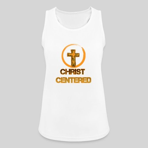 Christ Centered Focus on Jesus - Frauen Tank Top atmungsaktiv