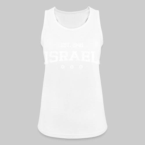 ISRAEL-white - Women's Breathable Tank Top