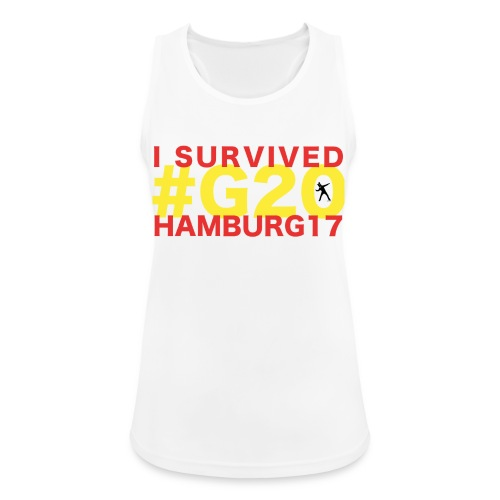 G20 transparent - Frauen Tank Top atmungsaktiv