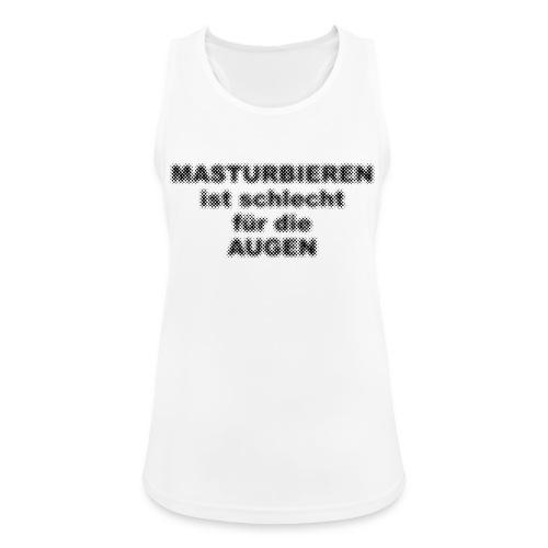 Masturbieren für helle Shirts - PrintShirt.at - Frauen Tank Top atmungsaktiv