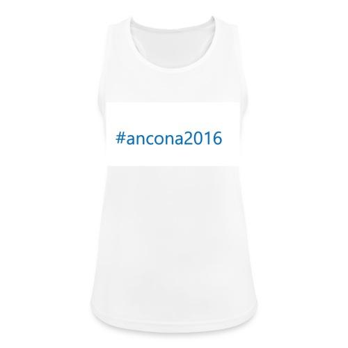 #ancona2016 - Camiseta de tirantes transpirable mujer