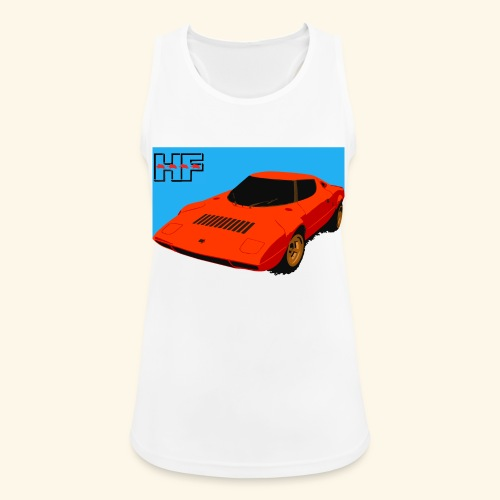 rally car - Women's Breathable Tank Top