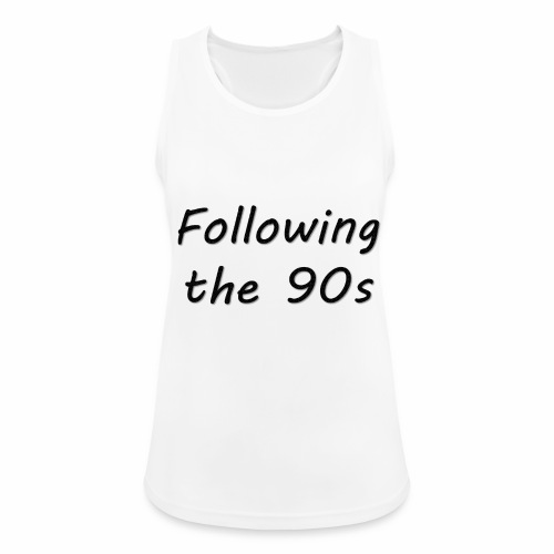Dos 90 - Camiseta de tirantes transpirable mujer