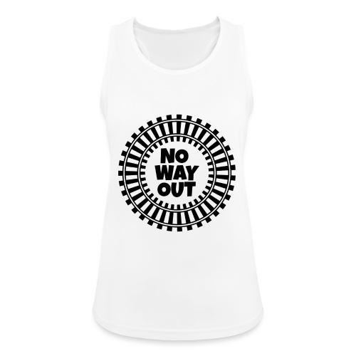 no way out - Camiseta de tirantes transpirable mujer
