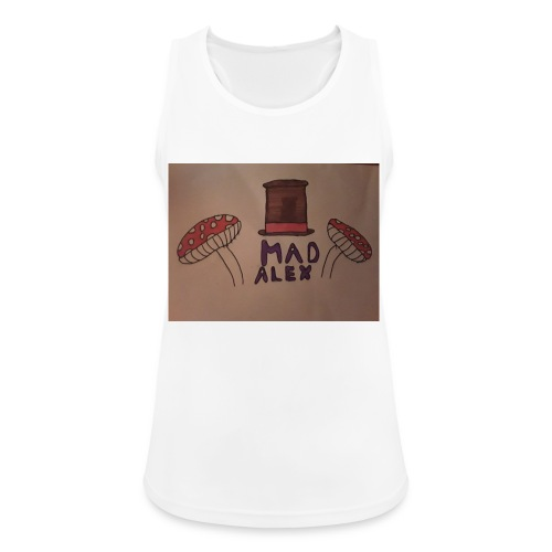 Mad Alex Logo - Women's Breathable Tank Top