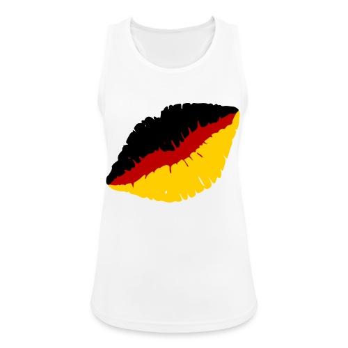 Deutschland Lippen Motiv - Frauen Tank Top atmungsaktiv