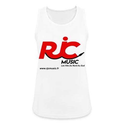 RJC Music avec site - Débardeur respirant Femme