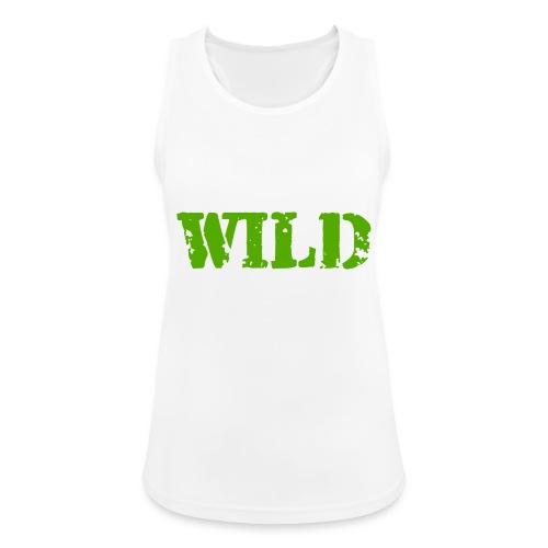 wild - Top da donna traspirante