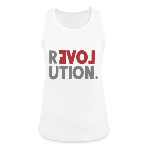 Revolution Love Sprüche Statement be different - Frauen Tank Top atmungsaktiv