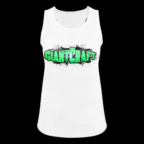 Vandflaske - GiantCraft - Dame tanktop åndbar