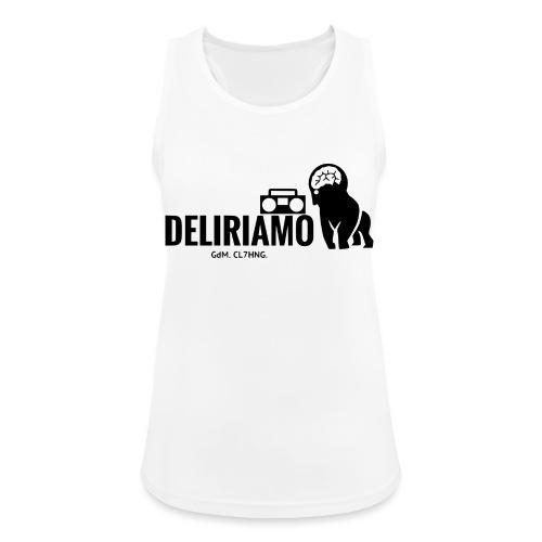 DELIRIAMO CLOTHING (GdM01) - Top da donna traspirante