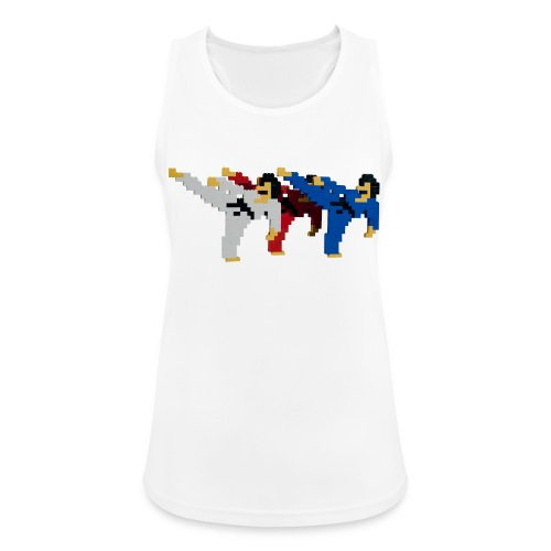 8 bit trip ninjas 2 - Women's Breathable Tank Top