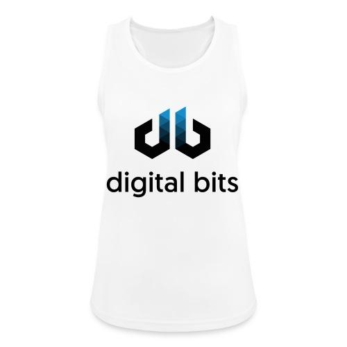 digitalbits Logo mit Schriftzug - Frauen Tank Top atmungsaktiv