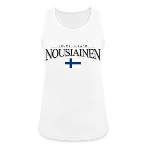 Suomipaita - Nousiainen Suomi Finland - Naisten tekninen tankkitoppi