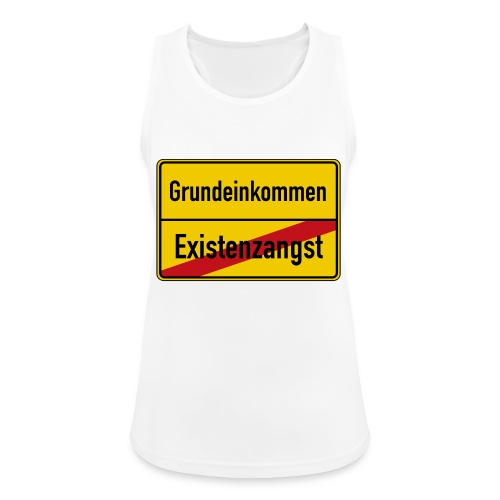 Grundeinkommen BGE - Frauen Tank Top atmungsaktiv