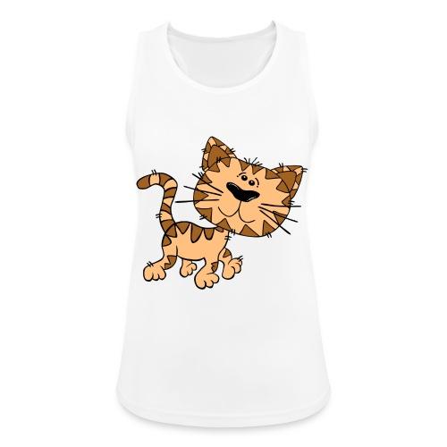 Cat - Frauen Tank Top atmungsaktiv