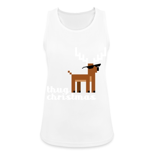 Christmas Xmas Deer Pixel Funny - Women's Breathable Tank Top