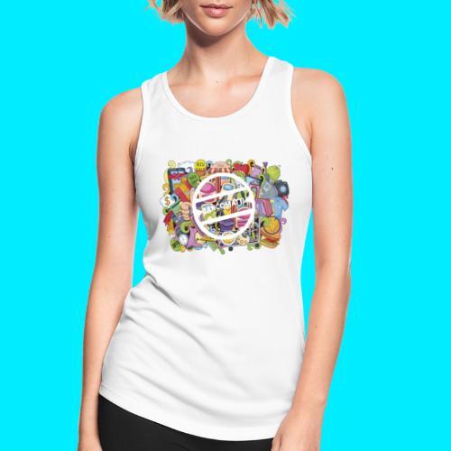 maglia logo doodle - Top da donna traspirante