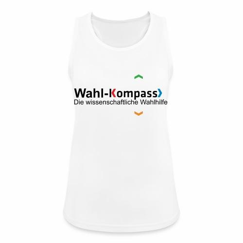 Wahl-Kompass Logo mit Slogan - Frauen Tank Top atmungsaktiv
