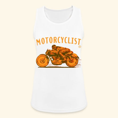 motorcyclist shirt - Women's Breathable Tank Top