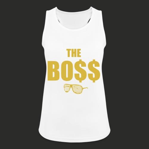 The Bo$$ Mens T-Shirt - Women's Breathable Tank Top