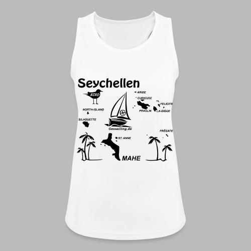 Seychellen Insel Crewshirt Mahe etc. - Frauen Tank Top atmungsaktiv