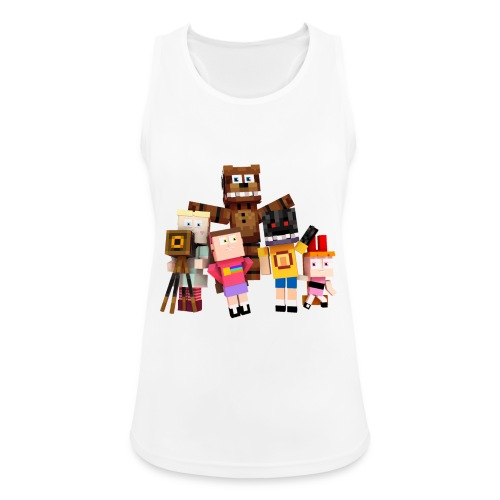 Withered Bonnie Productions - Meet The Gang - Women's Breathable Tank Top