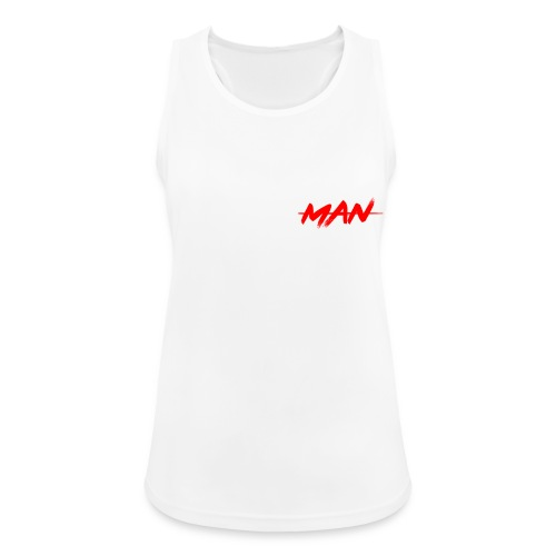 staceyman red design - Women's Breathable Tank Top