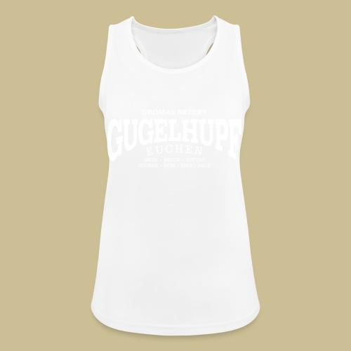 Gugelhupf (white) - Frauen Tank Top atmungsaktiv