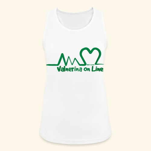 logo verde Associazione Valnerina On line - Top da donna traspirante