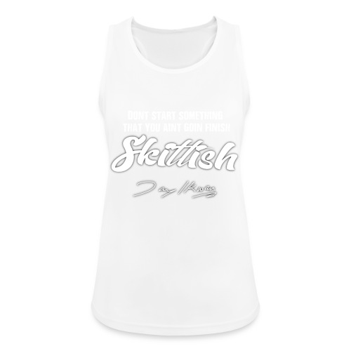 Jay Ikwan Skittish - Women's Breathable Tank Top