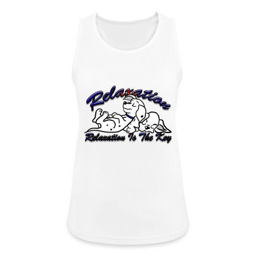 Relaxation Is The Key - Women's Breathable Tank Top