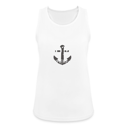 Home is where the anchor drops - Women's Breathable Tank Top