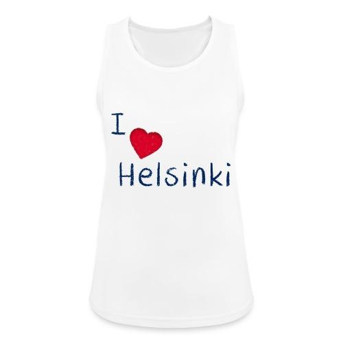 I Love Helsinki - Naisten tekninen tankkitoppi