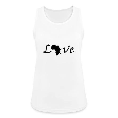 Love Africa - Frauen Tank Top atmungsaktiv