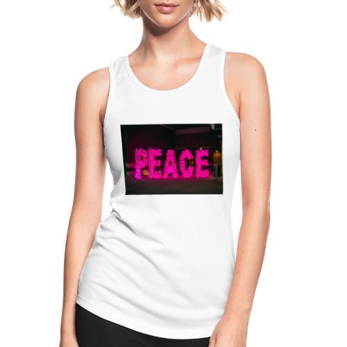 paz - Camiseta de tirantes transpirable mujer