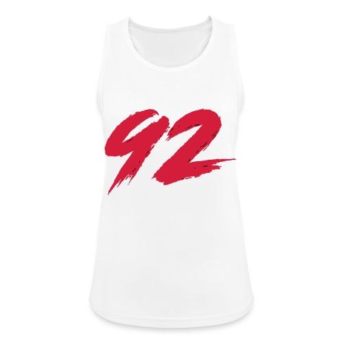 92 Logo 1 - Frauen Tank Top atmungsaktiv