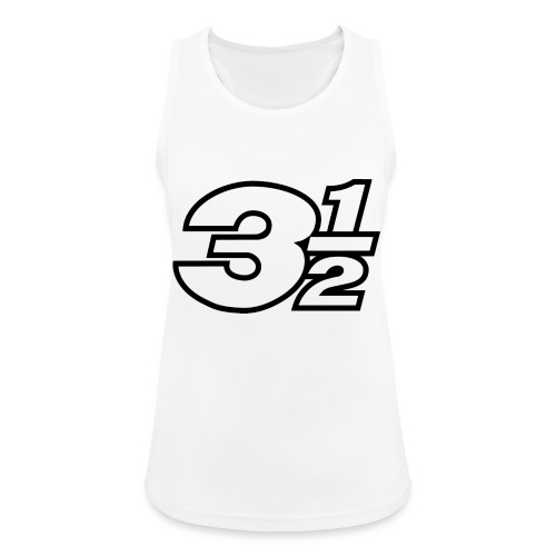Three and a Half Logo - Women's Breathable Tank Top