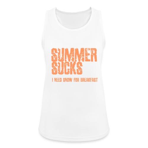 SUMMER SUCKS - Vrouwen tanktop ademend