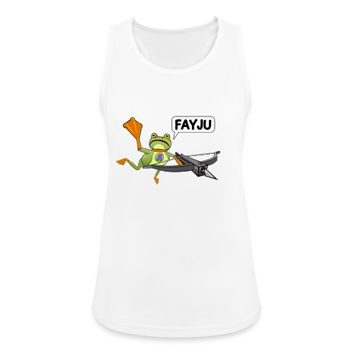 Amazing Frog Crossbow - Women's Breathable Tank Top