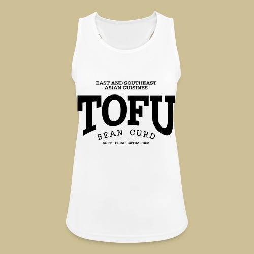 Tofu (black) - Frauen Tank Top atmungsaktiv