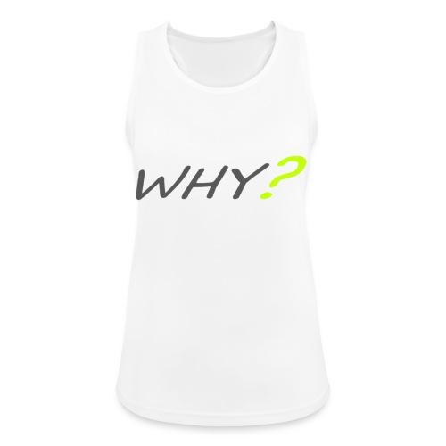 WHY? - Andningsaktiv tanktopp dam